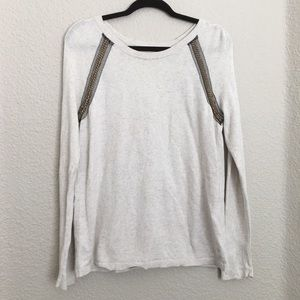 Rachel Rachel Roy Off White Pullover Top